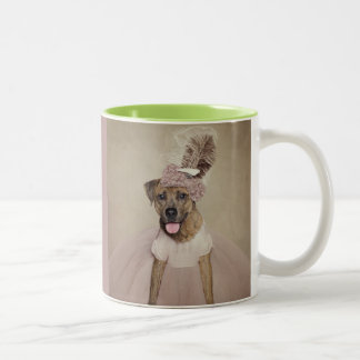 Shelter Pets Project - Tigger Two-Tone Coffee Mug