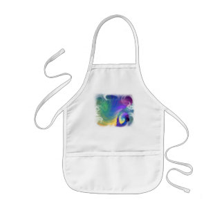 Sheltered Life Abstract Art Kids Apron