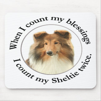 Sheltie Blessing Mousepad #1