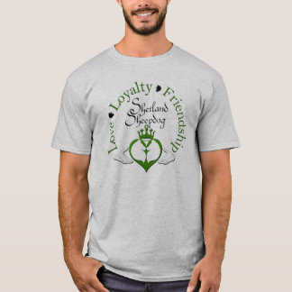 Sheltie Claddagh Shirt