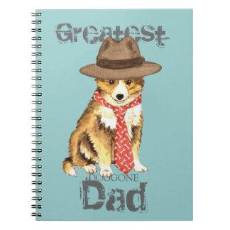 Sheltie Dad Note Books