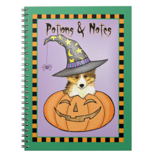 Sheltie Halloween Notebook