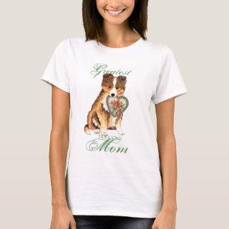 Sheltie Heart Mom T-Shirt