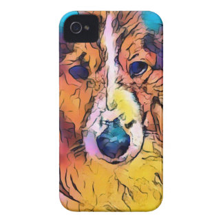 Sheltie image Case-Mate iPhone 4 cases