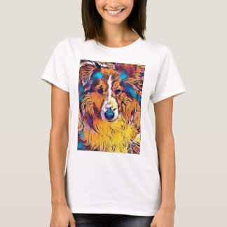 Sheltie image T-Shirt