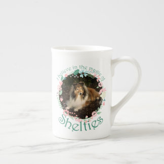 Sheltie Magic Bone China Mug