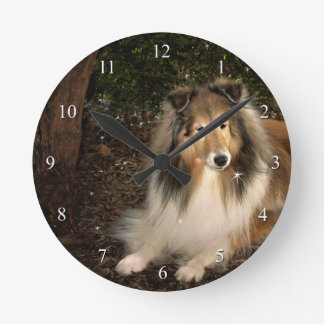 Sheltie Magic Clock