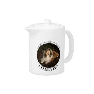 Sheltie Magic Teapot