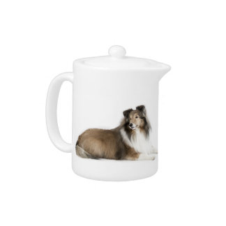 Sheltie Mix & Match Teapot