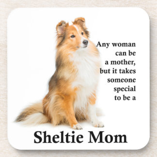 Sheltie Mom Coaster Set