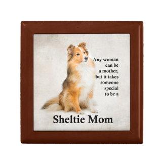 Sheltie Mom Gift Box