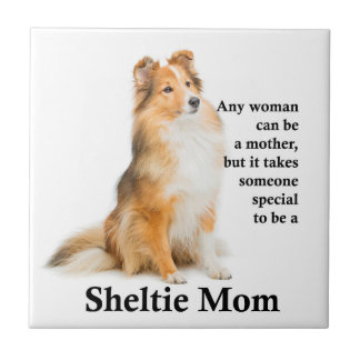 Sheltie Mom Tile