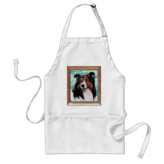 Sheltie Painting Apron