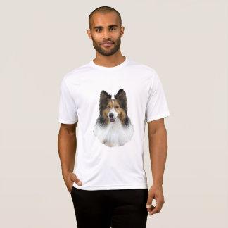 Sheltie Portrait T-Shirt