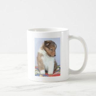 Sheltie Pup On Mug