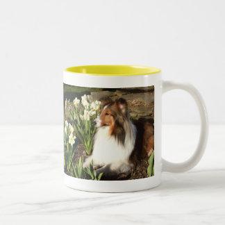 Sheltie Spring Mug