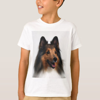 Sheltie T-Shirt For Kids