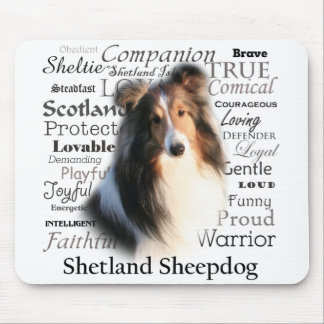 Sheltie Traits Mousepad