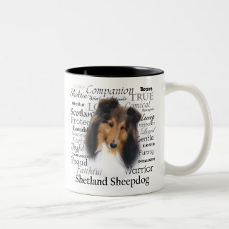 Sheltie Traits Mug