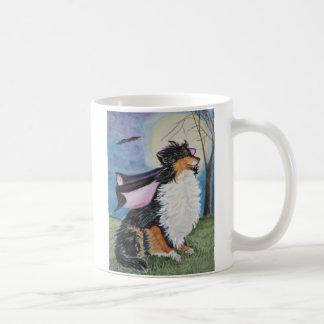 Sheltie Vampire Coffee Mug