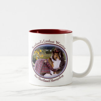 Sheltie Warrior Mug
