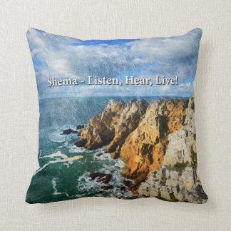 Shema Throw Pillow