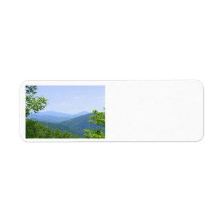 Shenandoah Mountains Return Address Label