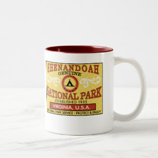 Shenandoah National Park Two-Tone Coffee Mug