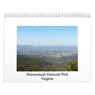 Shenandoah National Park Wall Calendars