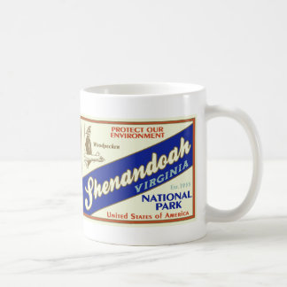 Shenandoah National Park (Woodpecker) Coffee Mug