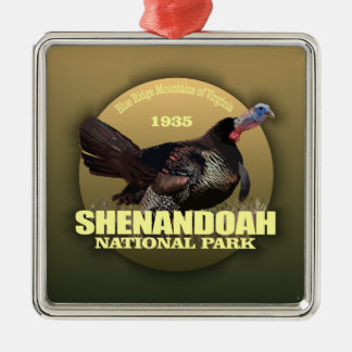 Shenandoah NP (Turkey) WT Metal Ornament