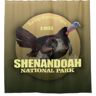 Shenandoah NP (Turkey) WT Shower Curtain