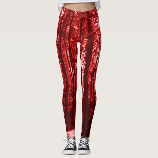 Shenandoah Red Leggings