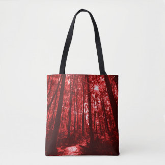 Shenandoah Red Tote Bag