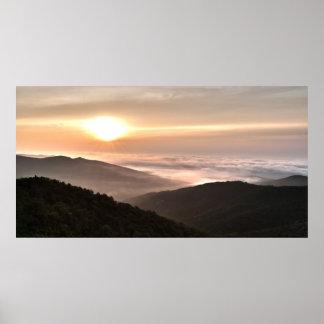 Shenandoah Sunrise Poster
