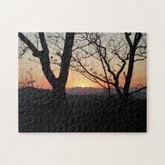 Shenandoah Sunset National Park Landscape Jigsaw Puzzle