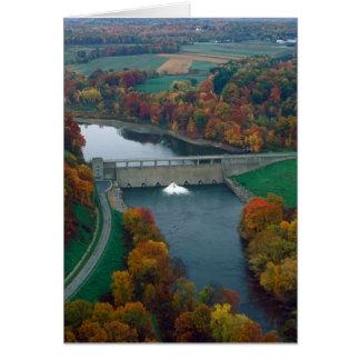 Shenango River Lake Dam Card