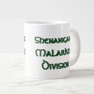 Shenanigans Malarkey Division Large Coffee Mug