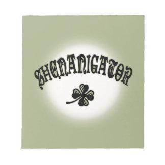 Shenanigator 117 notepad