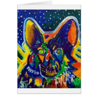 Shep by Piliero Greeting Card