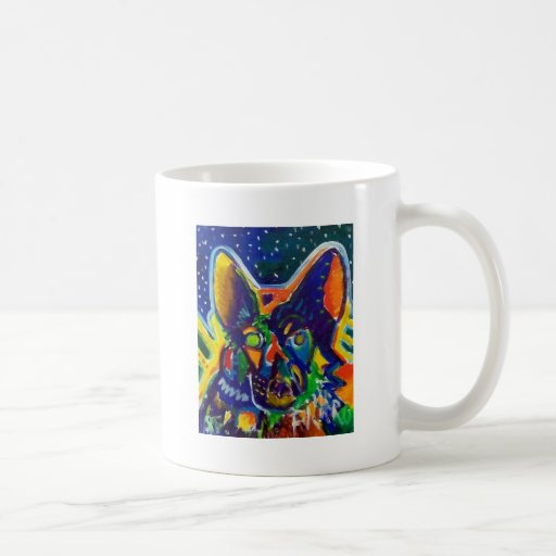 Shep by Piliero Coffee Mugs