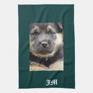 Shep Dog Hand Towel