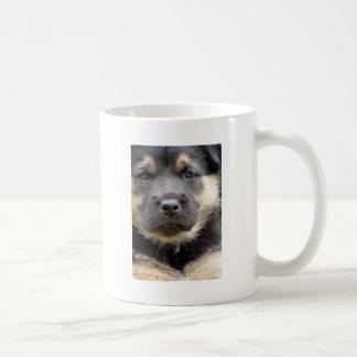 Shep Puppy Basic White Mug