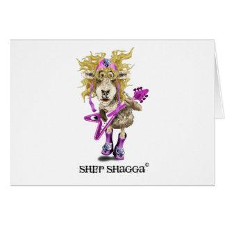 Shep Shagga Rock n Roll sheep Greeting Cards