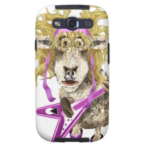 Shep Shagga Rock n Roll sheep Samsung Galaxy S3 Covers