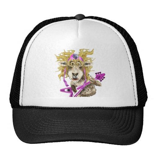 Shep Shagga Rock n Roll sheep Trucker Hats