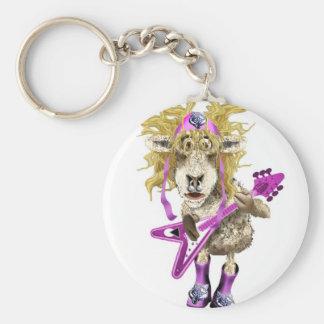 Shep Shagga Rock n Roll sheep Key Chains