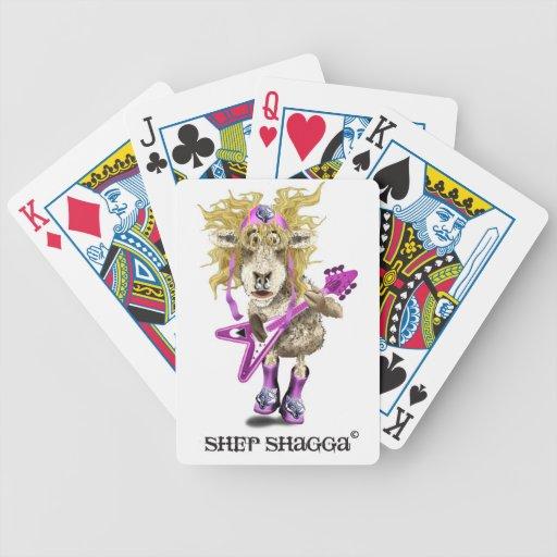 Shep Shagga Rock n Roll sheep Bicycle Card Deck