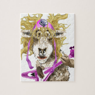 Shep Shagga Rock n Roll sheep Jigsaw Puzzles