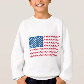 Shepard-Flag Patriotic Sweatshirt